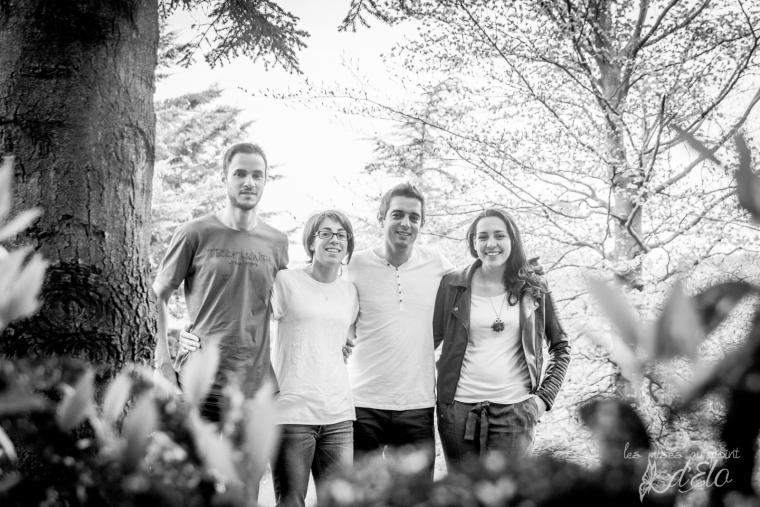 photographe monistrol sur loire - seance groupe famille Saint Victor sur Loire