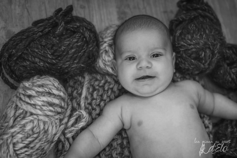 Séance bébé Haute Loire domicile - Photographe Monistrol sur Loire