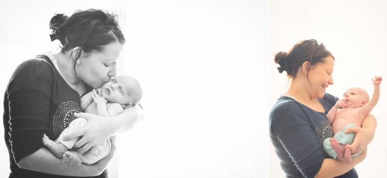 Séance bébé domicile Monistrol sur loire - photographe haute loire