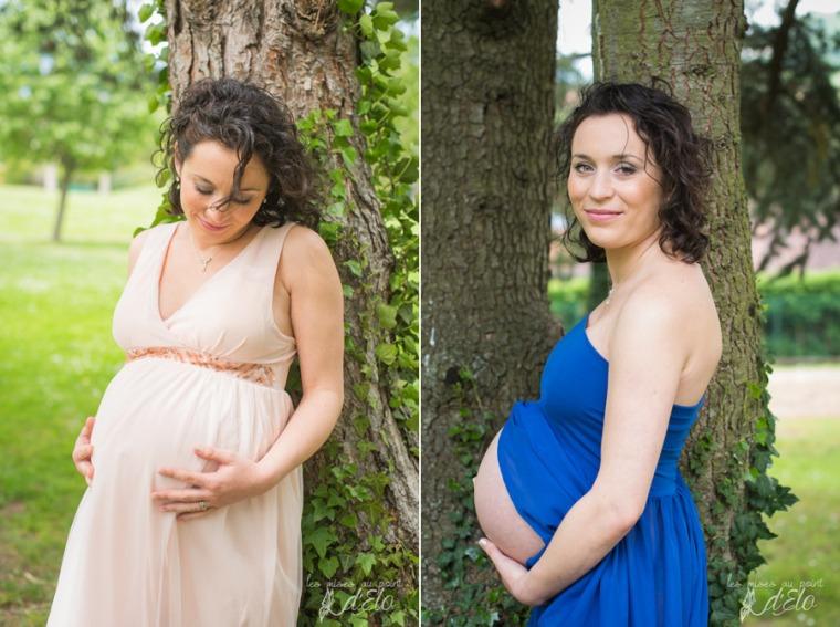 Photographe Monistrol sur Loire Séance grossesse domicile Loire